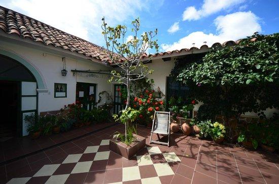 Casa Verde B&B : Courtyard
