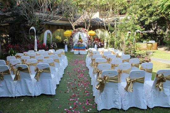 Risata Bali Resort & Spa : Wedding