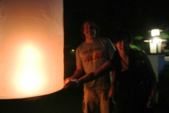 Rimping Village: Releasing my birthday lantern