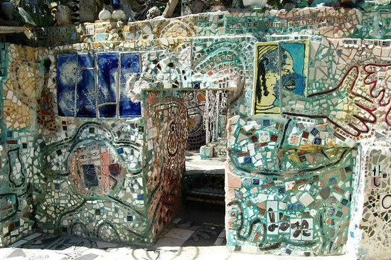 Philadelphia's Magic Gardens : PMG - mosaic art