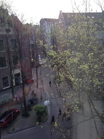 Renaissance Amsterdam Hotel: view from the room 538