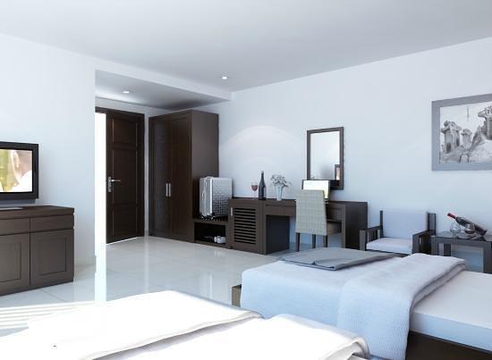 White Snow Hotel Danang : bedroom