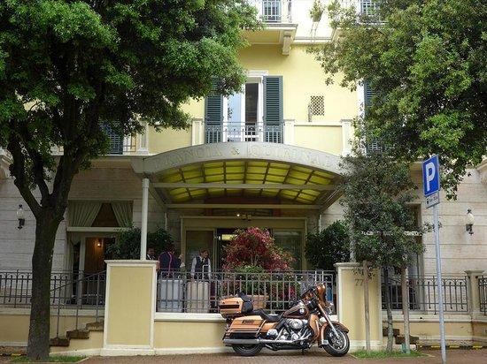 Hotel Francia e Quirinale : 玄関