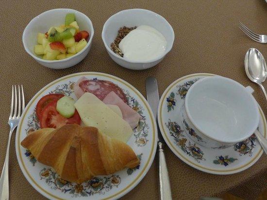 Hotel Francia e Quirinale : 朝食