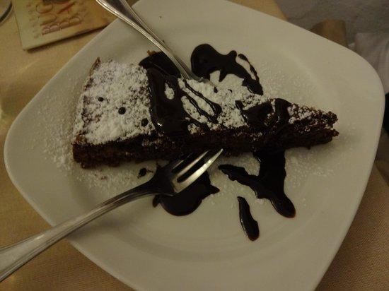 Ristorante Buca di Bacco: Sobremesa (5,50 euros) - boa!