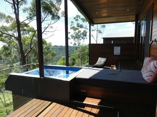 ‪‪Gwinganna Lifestyle Retreat‬: The Villa plunge pool - so private and beautiful!‬