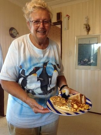 Nautical Nook Bed and Breakfast: Exceptional breakfasts!