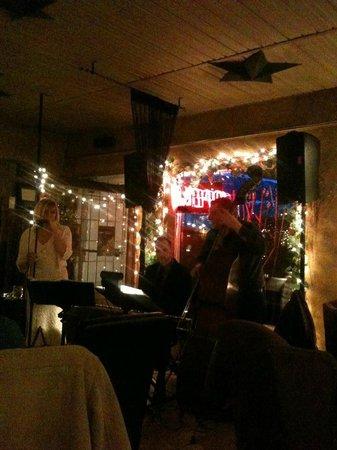 Ricardo's Mediterranean Kitchen : Photo from their Thursday night Jazz talent.