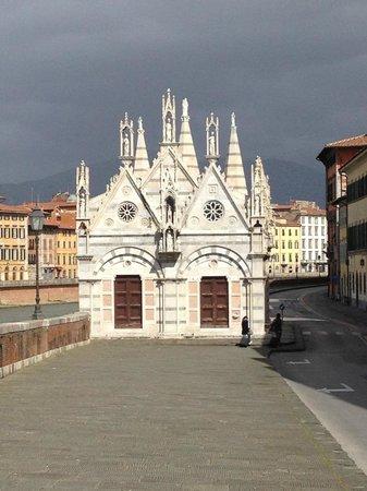 Chiesa di Santa Maria della Spina : Detail shot of Santa Maria della Spina