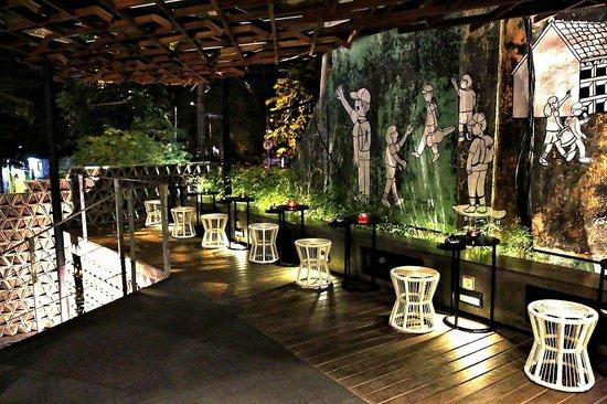 Kosenda Hotel : Outdoor Smoking Area