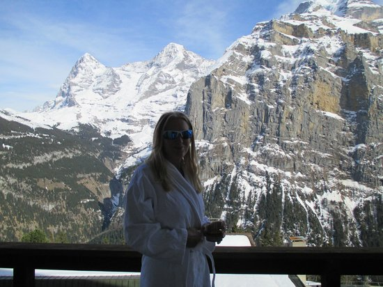Hotel Eiger : Same from Balcony.