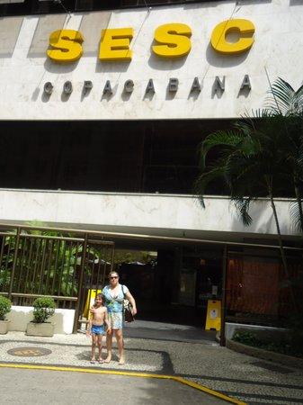 Hotel Sesc Copacabana: Sesc Copacabana.eu e meu filho.