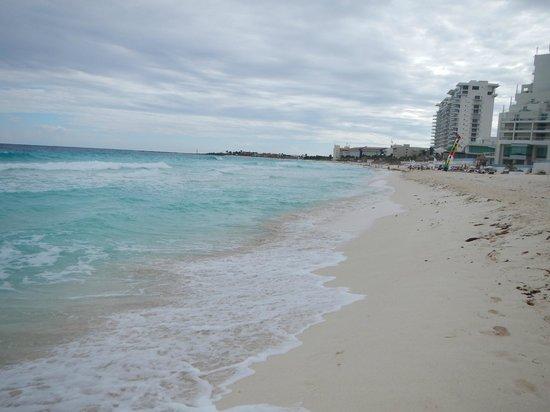 Hotel Yalmakan: playa