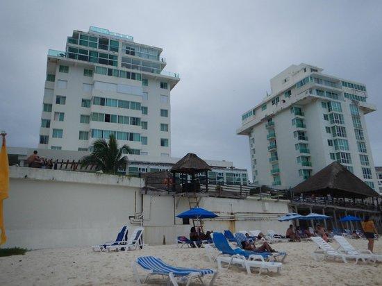 Hotel Yalmakan: hotel desde playa