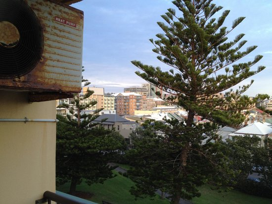 Newcastle Beach Hotel: View from 3rd floor