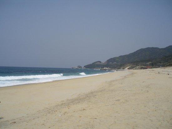 Nagata Inakahama: 砂浜