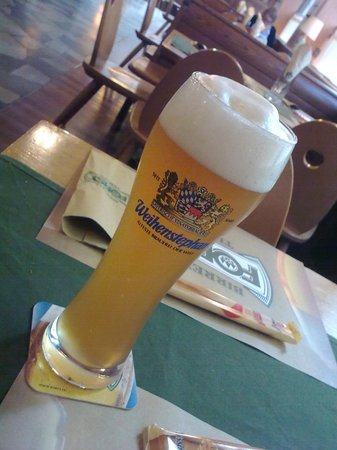 Birreria Forst : Weihenstephan beer at the Forst