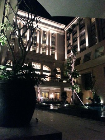 Hotel Tentrem Yogyakarta : from the pool