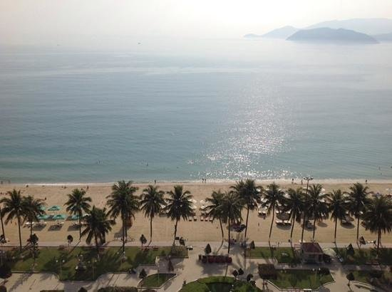 Novotel Nha Trang : view from our room