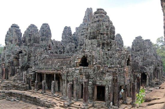 Bayon (Angkor) : From Afar