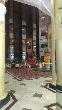 The Emerald Hotel: lobby