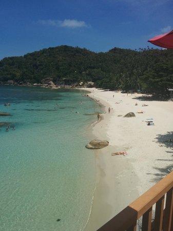 Crystal Bay Beach Resort : view from restaurant