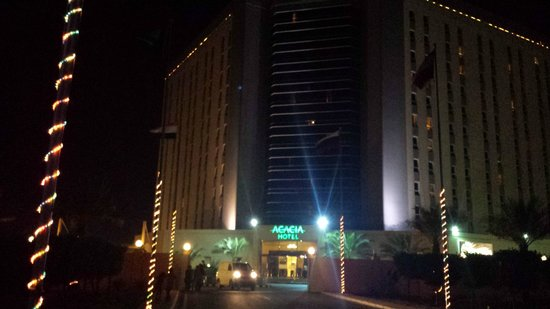 Bin Majid Acacia Hotel and Apartments: Hotel Front View