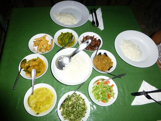 Village View: Rice and curry