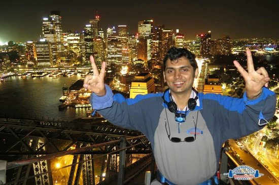 BridgeClimb: On top of the World...