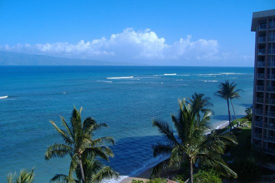 Valley Isle Resort: The gorgeous view from our 9th floor lanai!