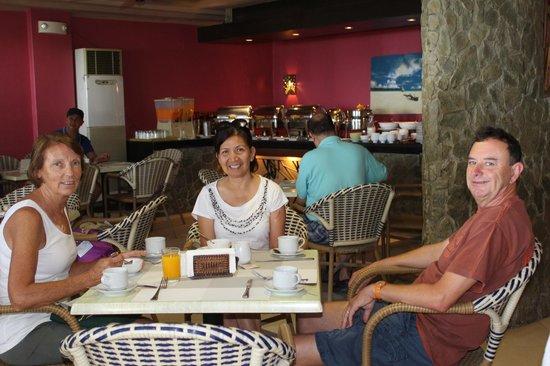 Le Soleil de Boracay: Breakfast