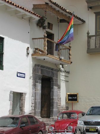 The Guest House at Fallen Angel: exterior del hotel