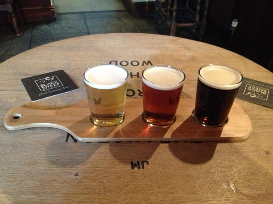 The Kings Arms: Ale taster