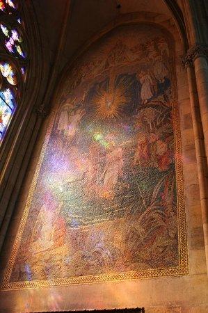 Veitsdom (Chram svatého Víta): мозайка