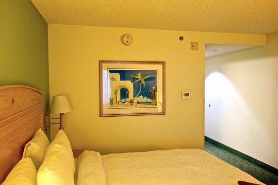 Hampton By Hilton Miami-Coconut Grove/Coral Gables: Blick vom Fenster in's Zimmer