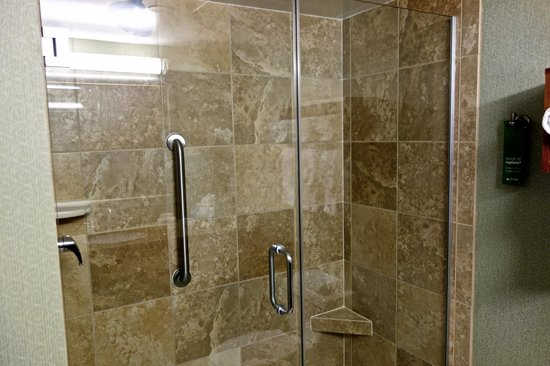 Hampton By Hilton Miami-Coconut Grove/Coral Gables: Walk-in-Shower