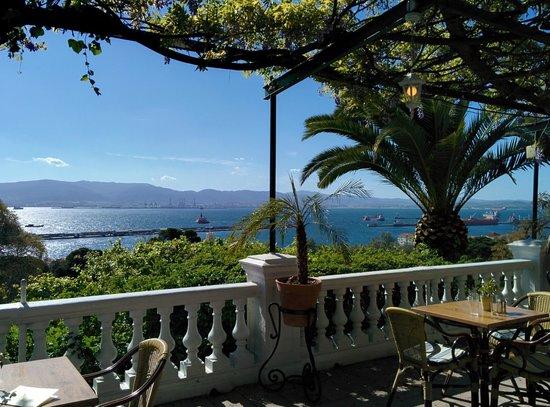Rock Hotel Gibraltar : Terrace view