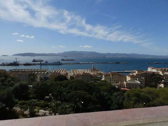Rock Hotel Gibraltar : View from room