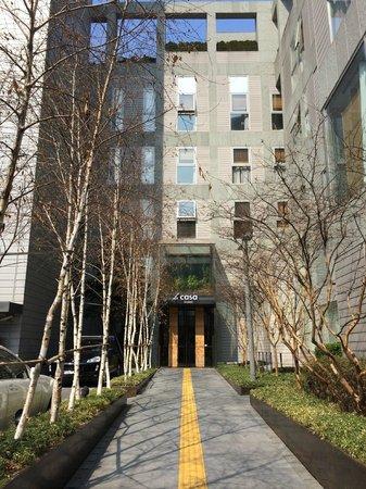 Hotel La Casa Seoul : La Casa Eingang