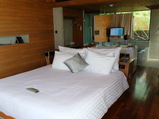 Casa de La Flora: nice bed