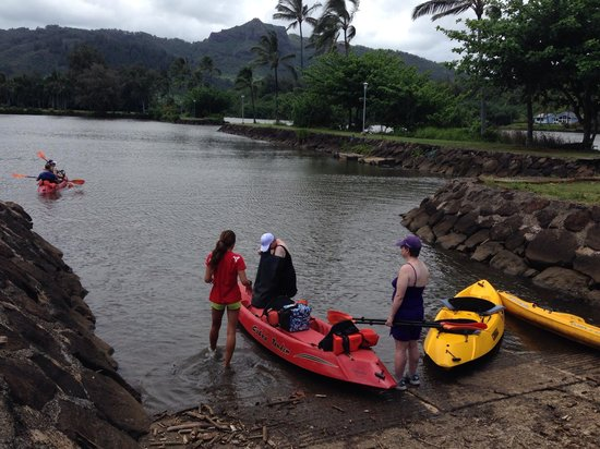 Kayak Wailua : Starting!