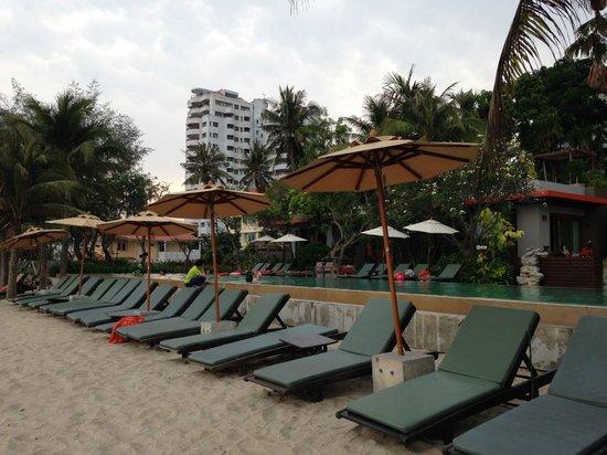 Haven Resort: プライベートビーチ