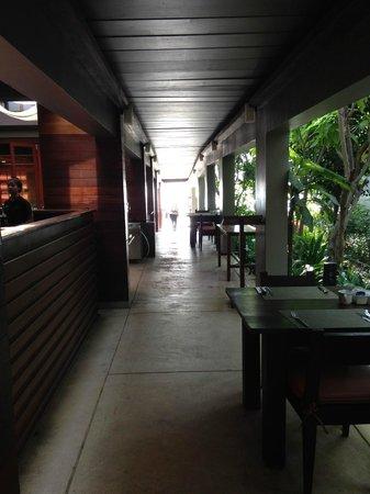 Haven Resort: 朝食会場