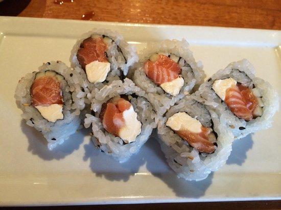Kabuki Japanese Restaurant: Philadelphia roll
