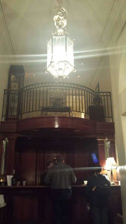 The Lafayette Hotel: Front Desk