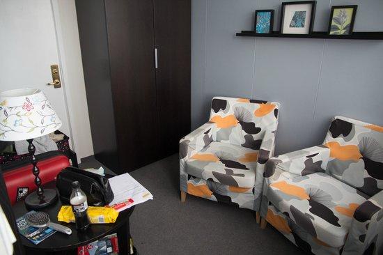 Hotel Leifur Eiriksson : Top floor twin room