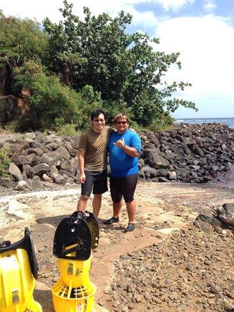 Kauai Down Under Dive Team: Awesome mike