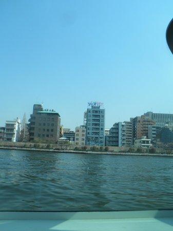 Kurumi Mansion: 水上バスから見たマンション