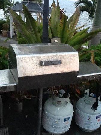 Lai Nani Villa: barbecue salle et rouille
