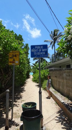 Lanikai Beach: 8番目の小道「Na Mokulua」